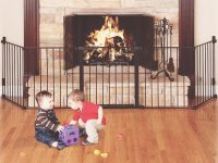 Baby-Proofing 101: How To Baby-Proof Your Fireplace