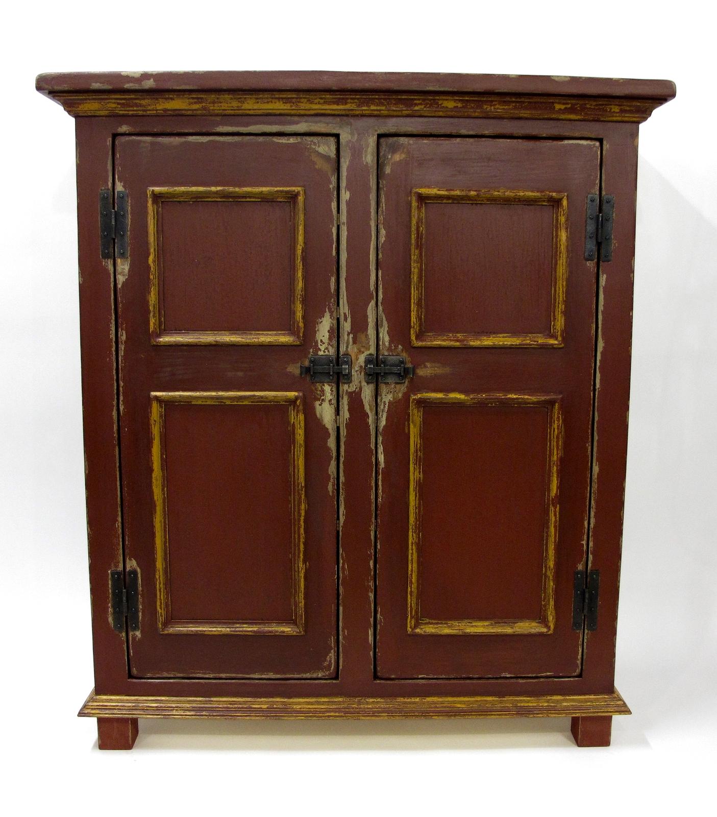 Armoire En Pin Sur Mesure Antique Peinture De Lait Lanaudiere