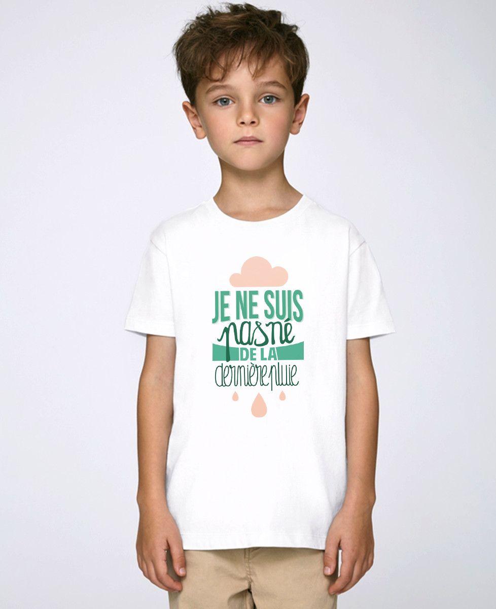 Né De La Dernière Pluie : dernière, pluie, T-shirt, Dernière, Pluie, Monsieur, TSHIRT
