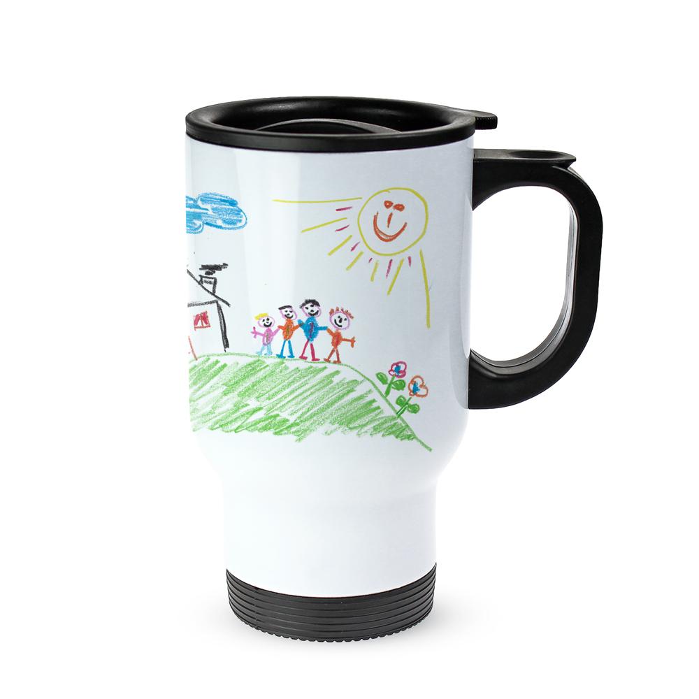 Thermobecher personalisiert mit Foto  Kinderbild als Motiv