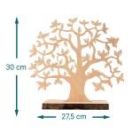 Baum Mit Sockel Graviert Geldgeschenk Kommunion Klein