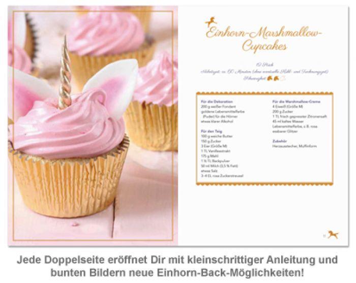 Das Einhorn Backbuch  25 Rezepte fr Einhorn Kekse und Co