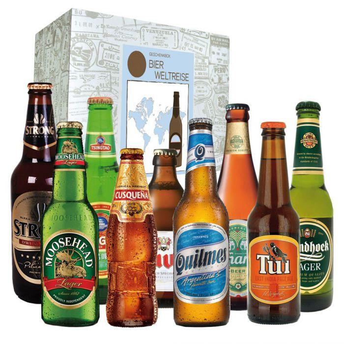Biere aus aller Welt  Geschenkbox 9 internationale