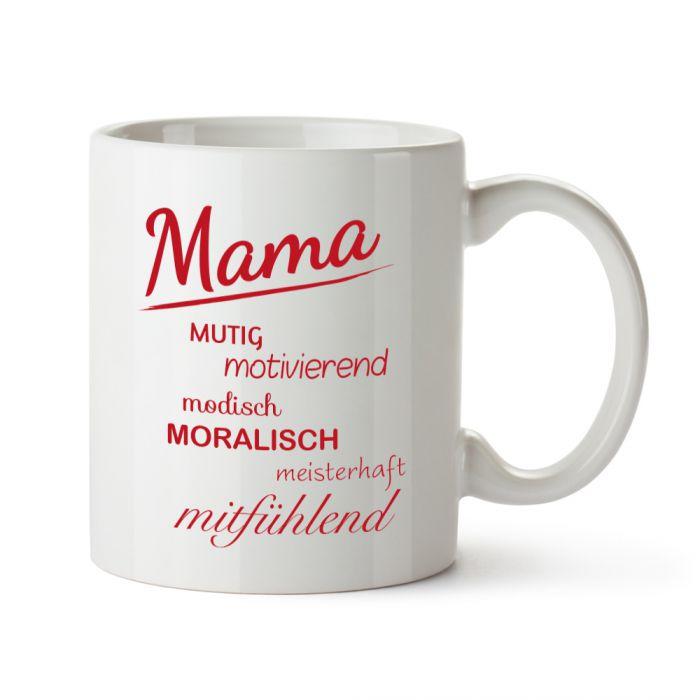 Tasse  Mamas Eigenschaften  tolles Geschenk fr Mtter