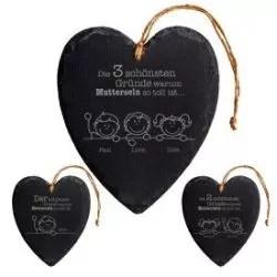 Lederarmband geflochten  Initialen Gravur  personalisiert