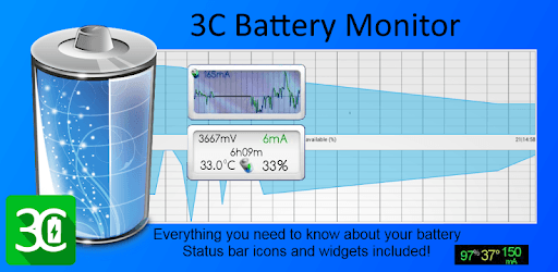 3C Battery Monitor Widget Pro v4.3.4a [Latest Apk]