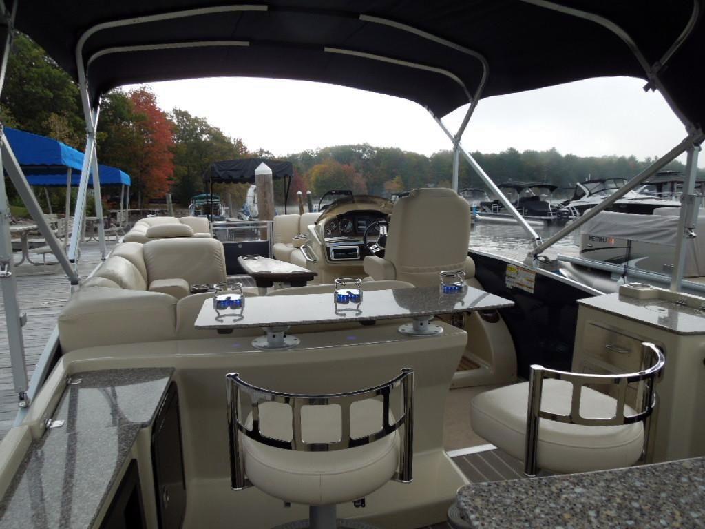 2014 New Sanpan 2500 Bar Pontoon Boat For Sale  45900