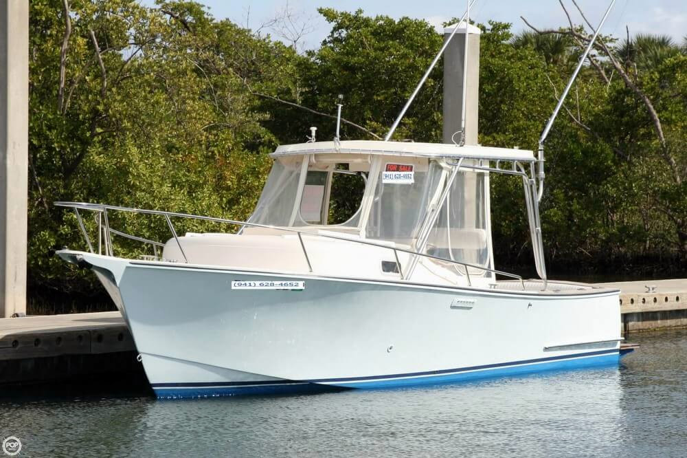 1989 Used Boca Grande 26 Express Sports Fishing Boat For Sale 27500 North Palm Beach FL