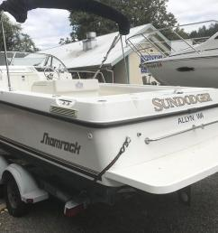used shamrock 219 walkaround center console fishing boat for sale  [ 1280 x 960 Pixel ]