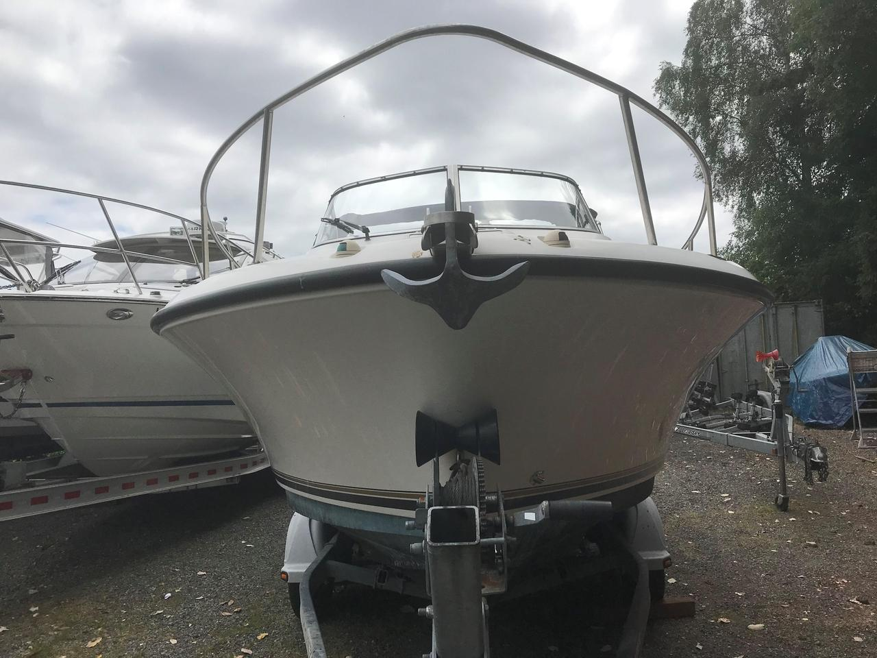 hight resolution of  used shamrock 219 walkaround center console fishing boat for sale