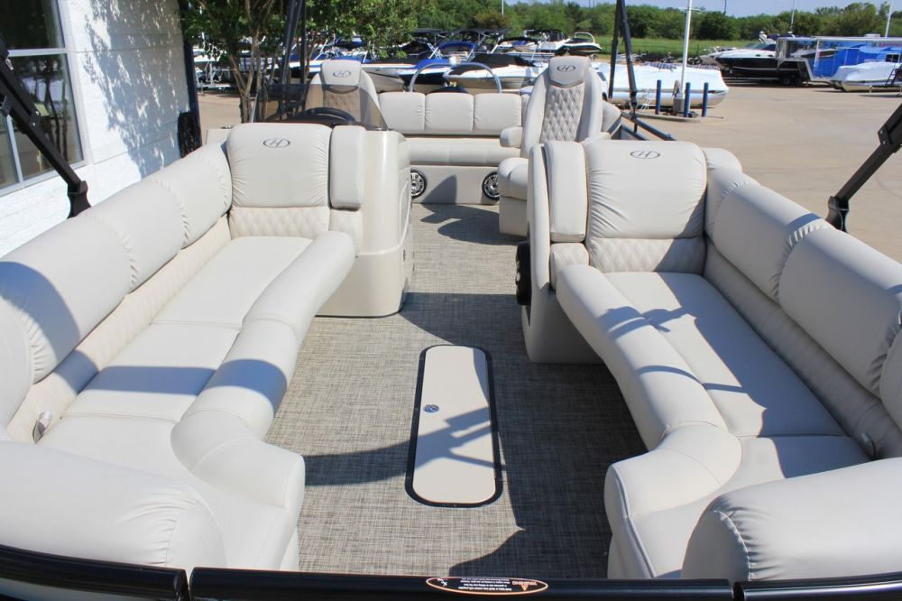 medium resolution of  new harris solstice 240 pontoon boat for sale