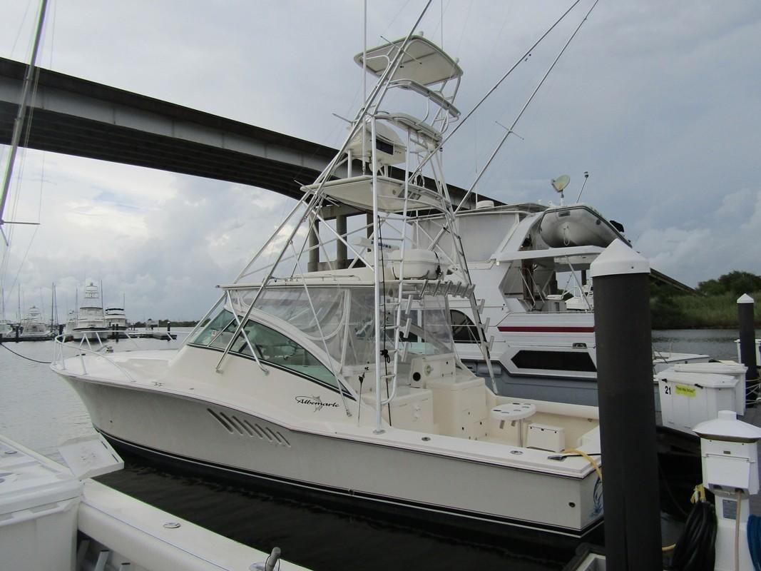 2004 Used Albemarle 410 Express Fisherman Sports Fishing
