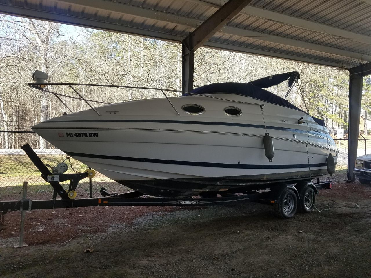 hight resolution of used chris craft 248 express cruiser boat for sale