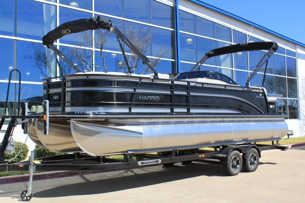 medium resolution of  new harris solstice dc 250 pontoon boat for sale