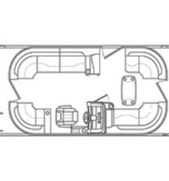 new bennington 21ssrcxp21ssrcxp pontoon boat for sale [ 1024 x 768 Pixel ]