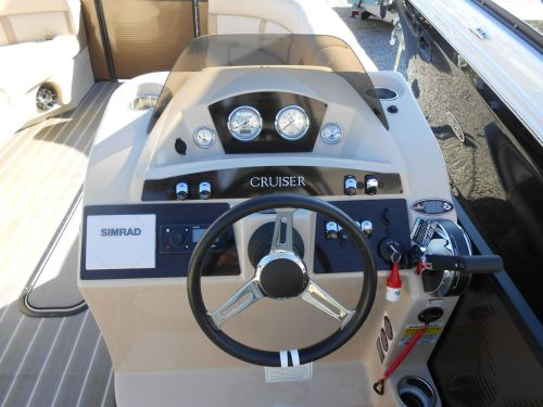 small resolution of  new harris cruiser 230 pontoon boat for sale