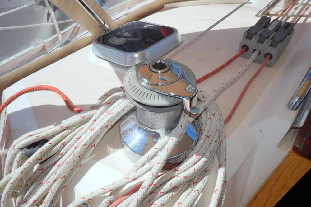 medium resolution of  used sabre 402 sloop sailboat for sale