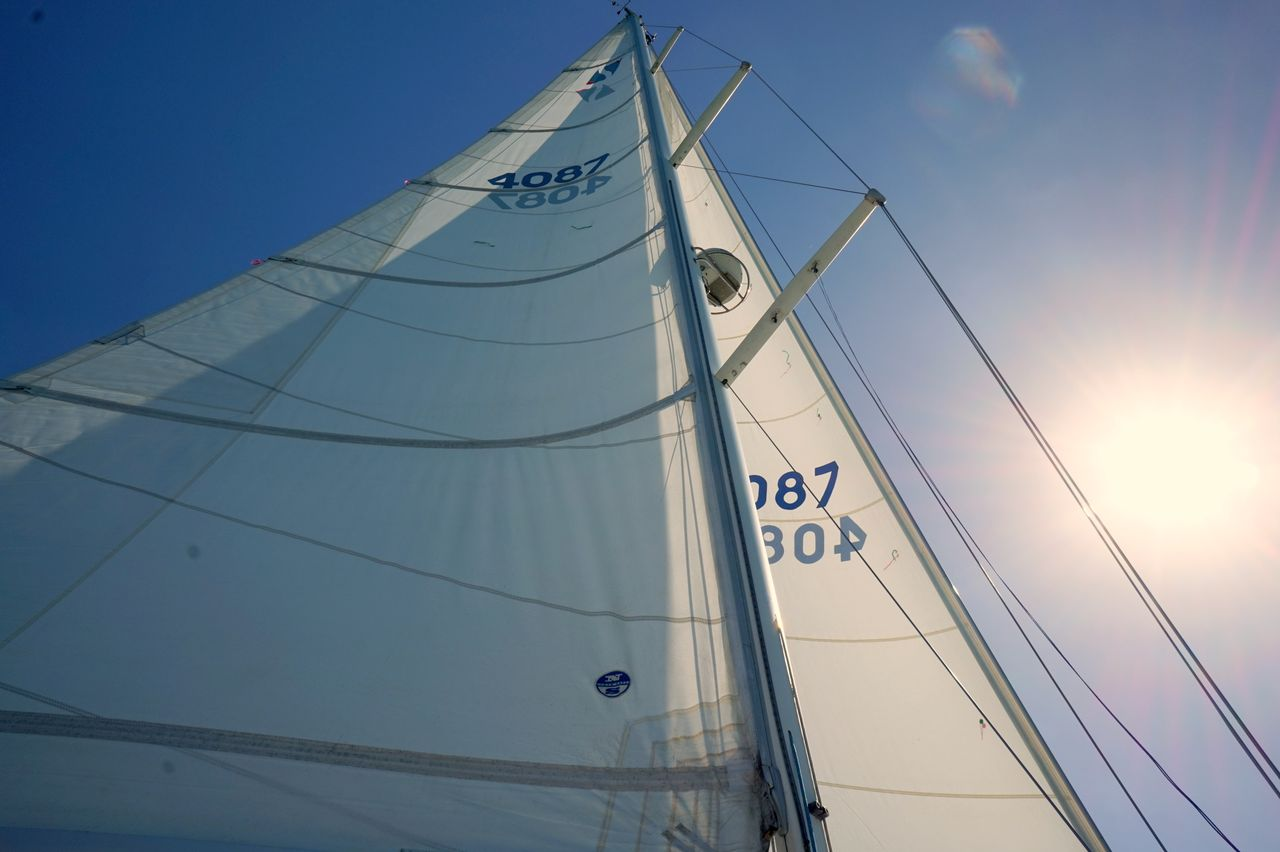 hight resolution of  used sabre 402 sloop sailboat for sale