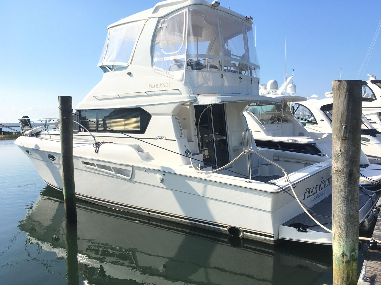 hight resolution of used silverton 42 convertible fishing boat for sale
