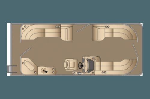 small resolution of  new harris 230cr pontoon boat for sale