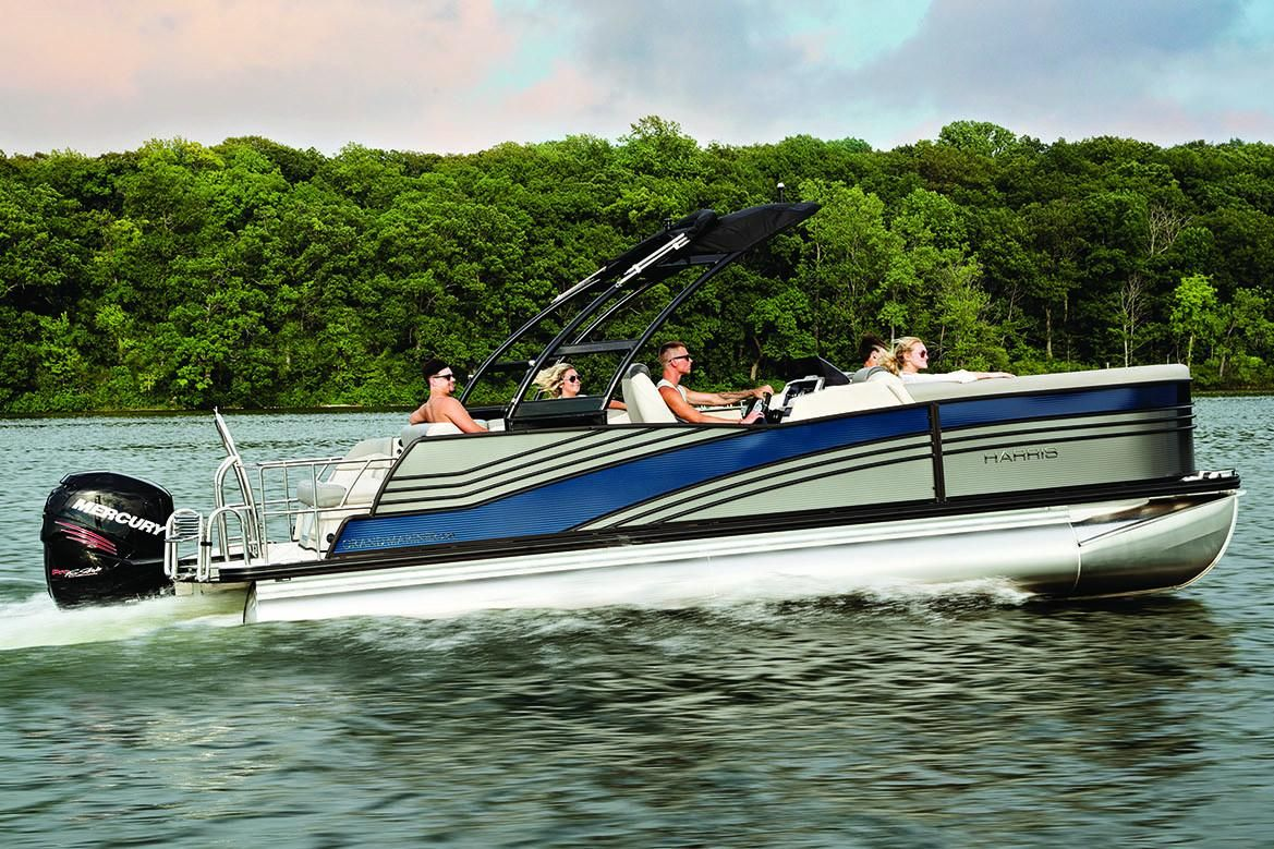hight resolution of new harris grand mariner 230 pontoon boat for sale
