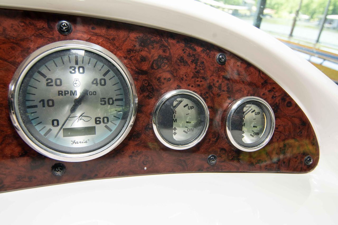 hight resolution of  wiring liry on 2003 used monterey 302 cruiser boat for sale 54 000 lake ozark monterey faria tachometer
