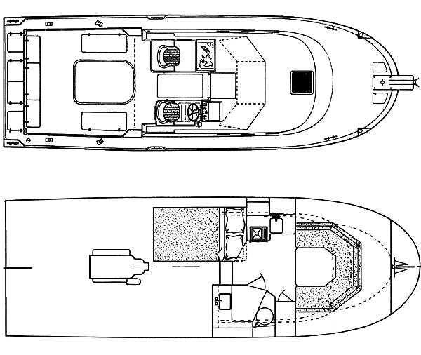 2000 Used Albin 28 Tournament Cruiser Boat For Sale