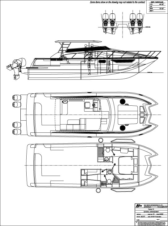 2016 New Mares Open Outboard Express Power Catamaran Boat