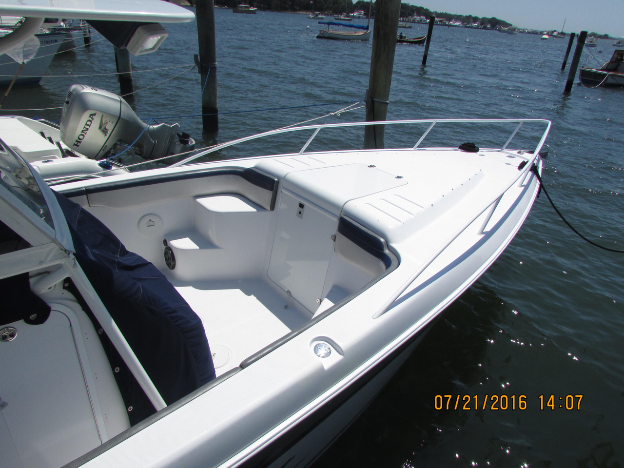 2003 Used Donzi 35ZF Center Console Fishing Boat For Sale 89899 Stonington CT
