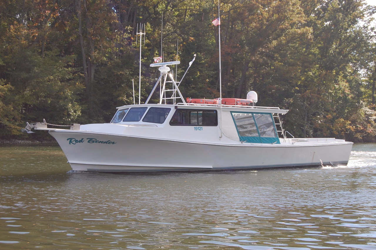 2001 Used Chesapeake Deadrise Inspected Thomas Built 50