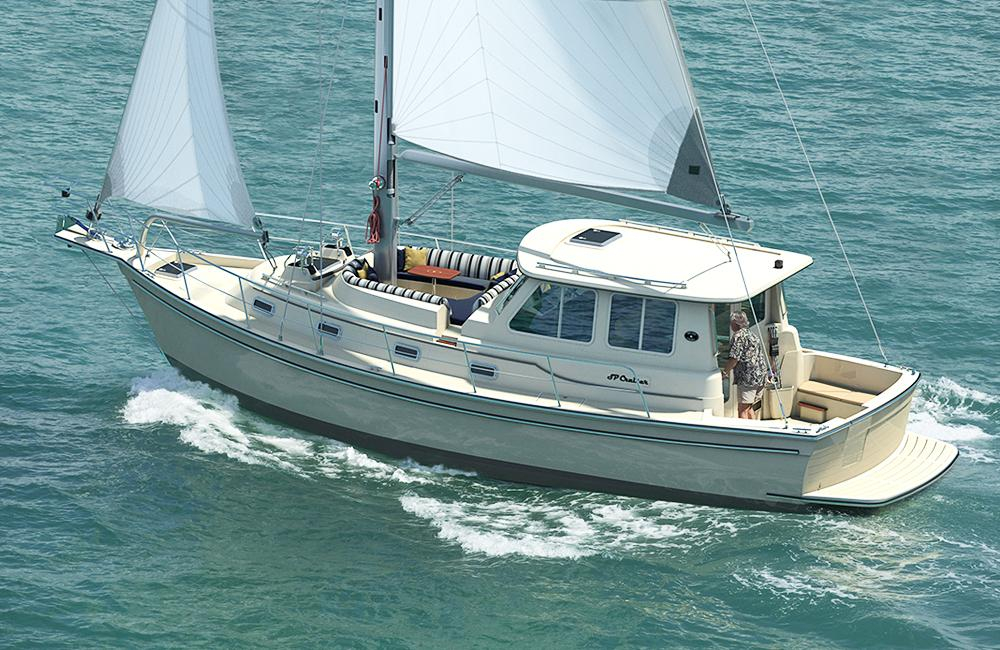 2018 New Island Packet North Star 44 Cruiser Sailboat For Sale 479000 Stonington CT