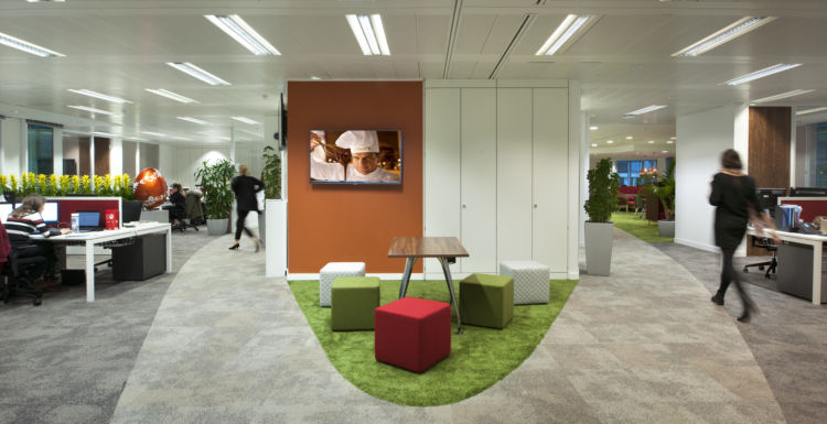 Office design and fit out gallery  Morgan Lovell