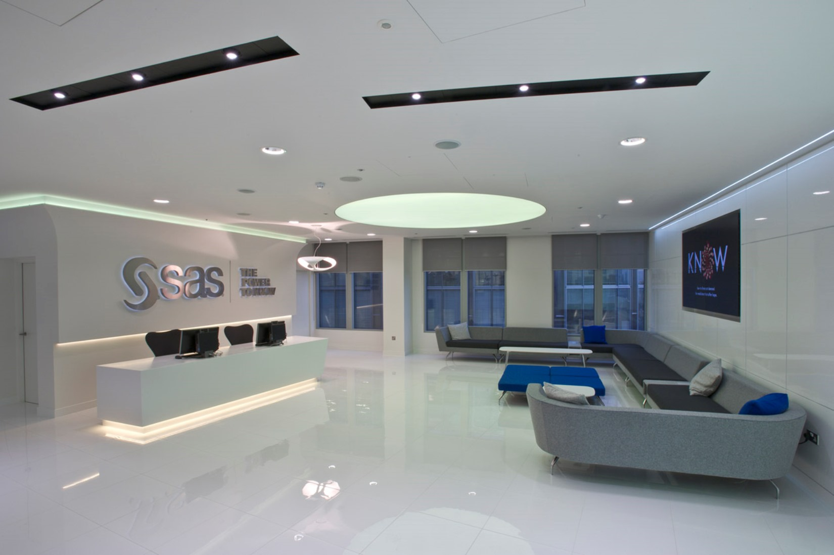 Inside SAS London Office Design and Fit Out  Morgan Lovell