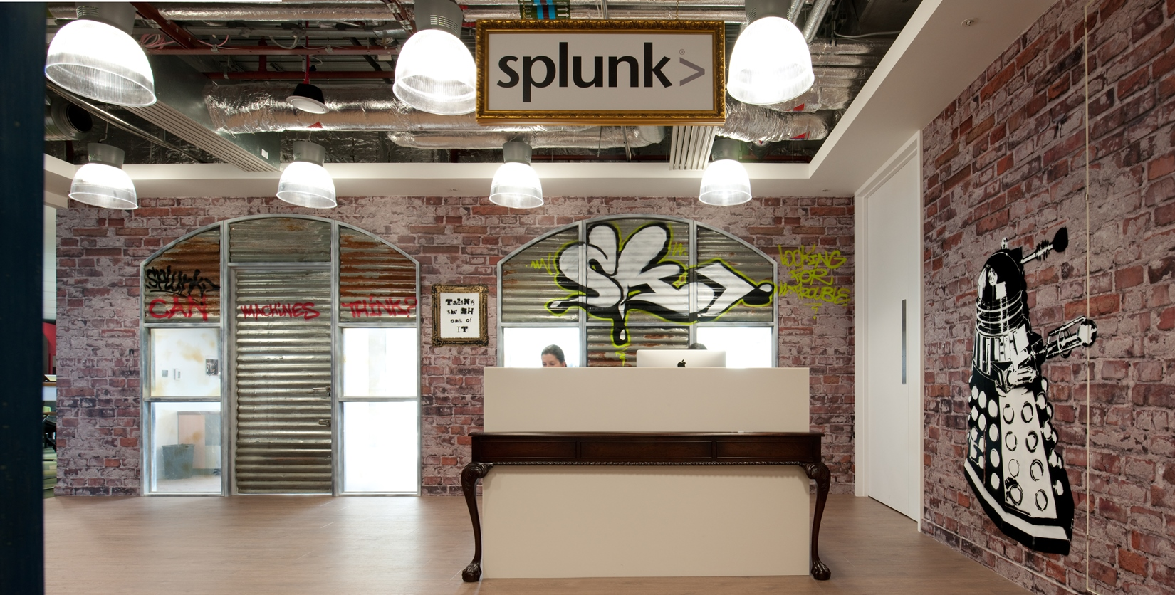 Inside Splunks Super Cool London Office Design  Morgan Lovell