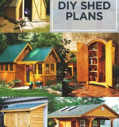 108 free diy shed plans ideas that you can actually build in your backyard [ 800 x 1200 Pixel ]