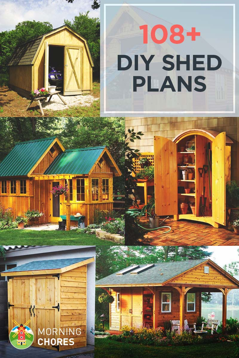 medium resolution of 108 free diy shed plans ideas that you can actually build in your backyard