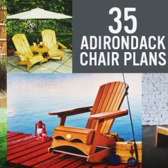 Adirondack Chair Plan Grey Cushions 35 Free Diy Plans Ideas For Relaxing In Your Backyard