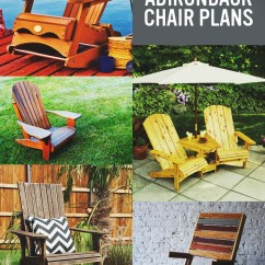 Double Rocking Adirondack Chair Plans Chippendale Baby High 35 Free Diy Ideas For Relaxing In Your Backyard