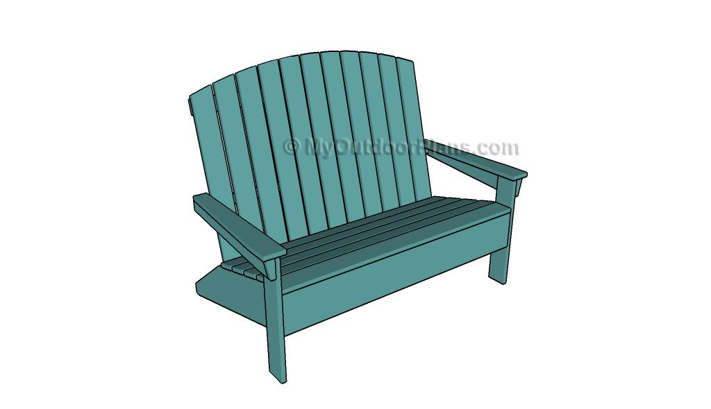 diy adirondack chair plans desk upholstered 35 free ideas for relaxing in your backyard loveseat ac26
