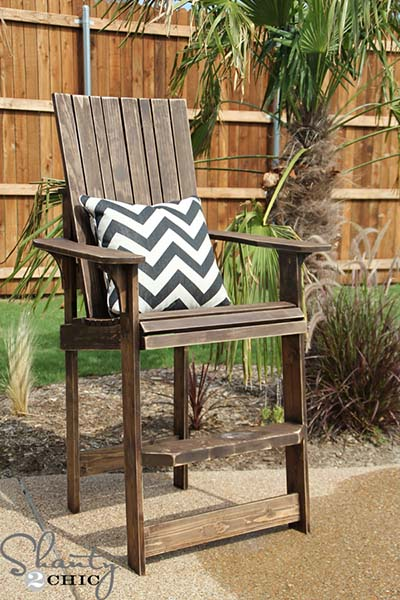 how to make a wooden beach chair bean bag chairs big joe 35 free diy adirondack plans ideas for relaxing in your backyard this looks amazing whether you are at the or not now let me start off by saying if live full time we all incredibly