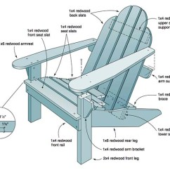 Adirondack Chair Blueprints Ergonomic Harvey Norman 35 Free Diy Plans Ideas For Relaxing In Your Backyard Redwood