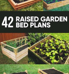 59 free diy raised garden bed plans ideas you can build in a day [ 800 x 1200 Pixel ]
