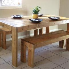 Build Kitchen Table Home Depot Remodeling 40 Diy Farmhouse Plans Ideas For Your Dining Room Free This Is Another Design That Looks Easier To But It Also Has Plenty Of Lots Guests Too