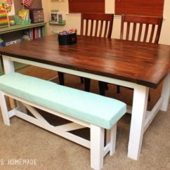 Large Kitchen Table Europa Cabinets 40 Diy Farmhouse Plans Ideas For Your Dining Room Free I Love This It Looks So Welcoming And Can Hold Quite A Few People As Well To Me Having Equates Welcome Spot