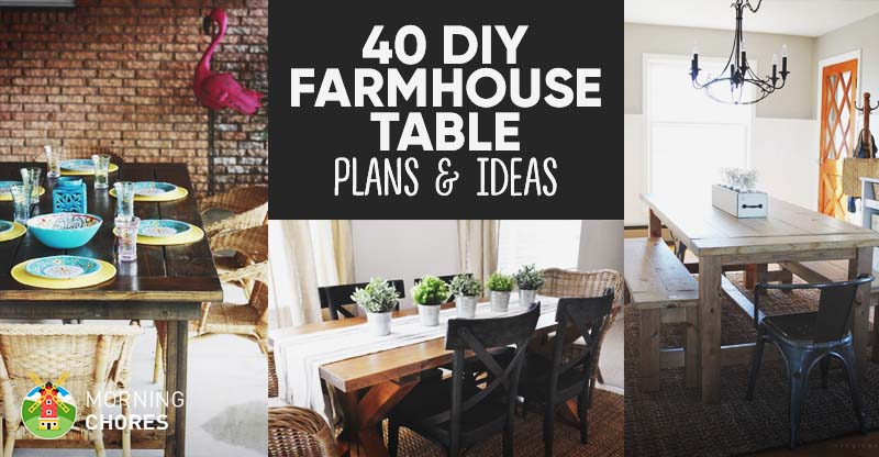 diy living room furniture plans paint color ideas for with wood trim 40 farmhouse table your dining free