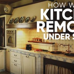 How To Remodel Kitchen Childs Diy Ideas We Do It For Under 1 000