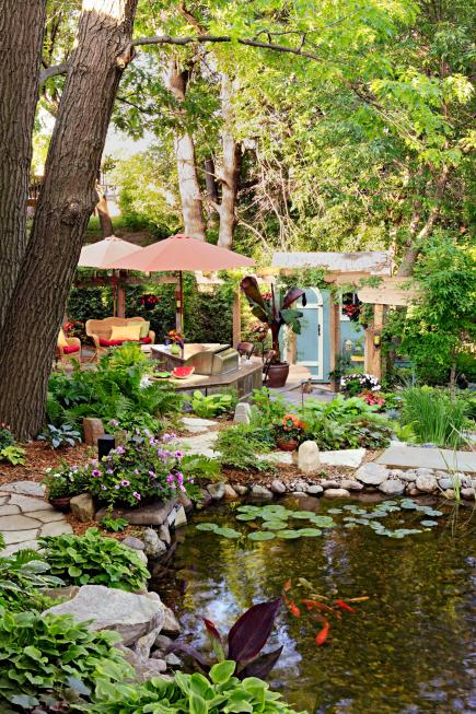 Fall Wooded Wallpaper 30 Small Backyard Ideas That Will Make Your Backyard Look Big