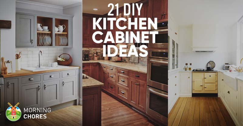 diy kitchen cabinet mid range cabinets 21 ideas plans that are easy cheap to build