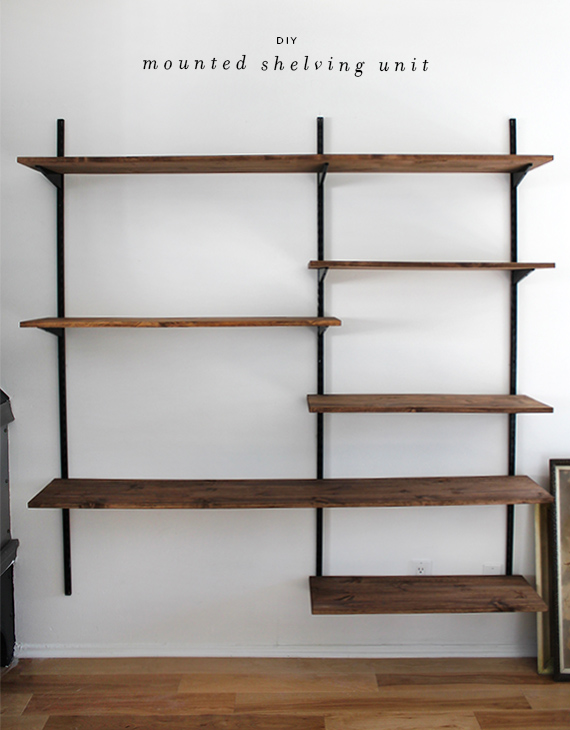 diy shelves in living room formal end tables 51 bookshelf plans ideas to organize your precious books mounted shelving unit