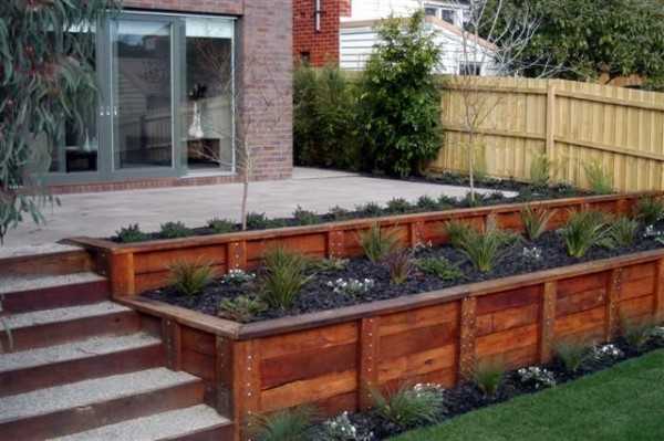 How Build Garden Box Slope